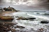 埃斯托里尔海岸线 — 图库照片