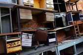 Desk Scrap — Stock Photo