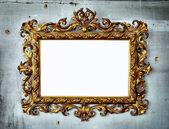 Barokní rámec — Stock fotografie