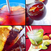 Cold Drinks — Stock Photo