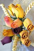 Roses en bois — Photo