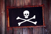 Pirate Frame — Stock Photo