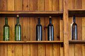 Five Bottles — Stock Photo