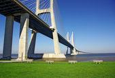Ponte di Vasco da gama — Foto Stock