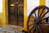 Wagon Wheel — Стоковое фото