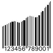 Barcode Up — Stock Photo
