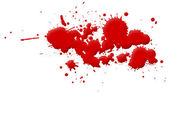 Blood Stain — Stock Photo