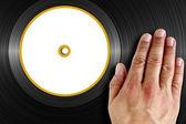 Vinyl Scratch — Stock Photo
