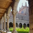 Cathedral Cloister - Stock Photo