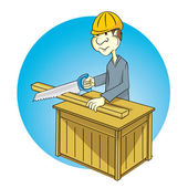 Carpentry — Stock Vector