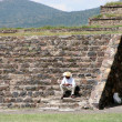 Teotihuacan - Stok fotoraf