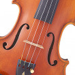 Stock Photo: Violin ViolIsolated on White