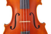 Violin viola Isolated on White — Stock Photo