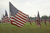 United States Flags — Stock Photo