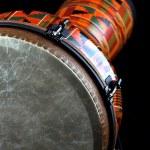 African Latin Djembe Conga Drum — Stock Photo