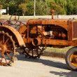 Stock Photo: Rusty Antique Corroded Tractor