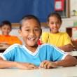 Cheerful primary school children — Stock Photo