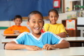 Cheerful primary school children — Stock Photo