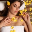 Woman in relaxing health spa — Stock Photo #5931360