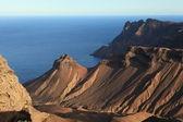 Sopečné pobřeží svatá helena — Stock fotografie