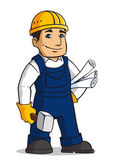 Builder man — Stock Vector