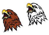 Cartoon eagle — Vector de stock
