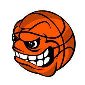 Basketball cartoon ball — Stock Vector