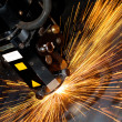 Stock Photo: Industrial laser