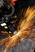 Industrial laser — Stock Photo