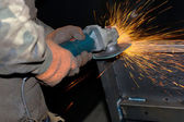 Electric grinder — Stock Photo