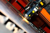 Industrial laser — Foto Stock