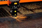 Laser industriali — Foto Stock