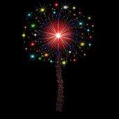 Firework — Vetorial Stock