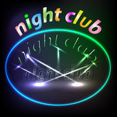 Night club — Stock Vector