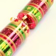 Bright fun single celebration christmas cracker — Stock Photo #5934159
