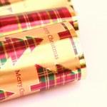 Traditional christmas celebration crackers — Stock Photo