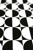 Black & white geometric pattern vertical background — Stok fotoğraf