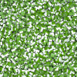 Abstract textured cubes in green and white — Stock Photo