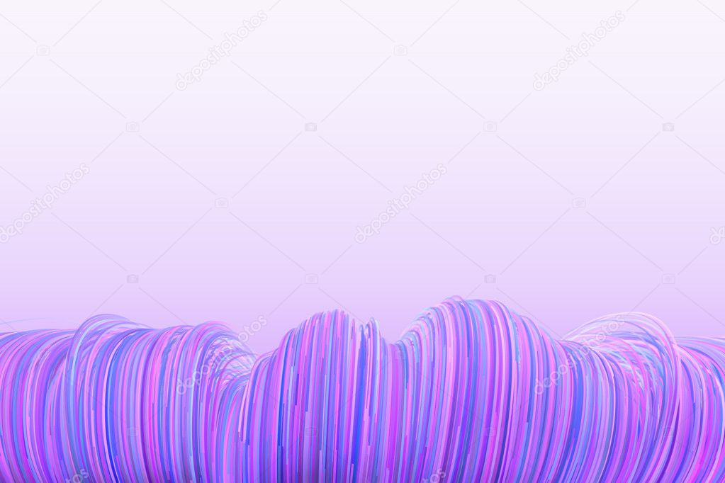 Fondo De Líneas Onduladas De Color Azul-morado