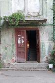 Vintage entrance — Stock Photo