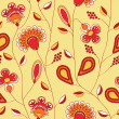 Flowers pattern — Foto Stock