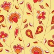 Flowers pattern — Stockfoto
