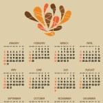 Calendar — Stock Vector #5895180