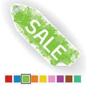 Green sale — Stock Vector