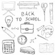 Back to school — Vector de stock #6311613