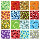 Patterns — Stock Vector