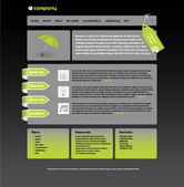 Web site design — Stockvector