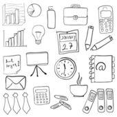 бизнес-комплект — Cтоковый вектор