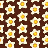 Eggs pattern — Stock Vector