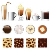 Coffee set — Stock Vector